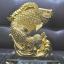 ปลาหลีฮื้อทองเล่นน้ำบนฐานคริสตัลค้าขายร่ำรวย thumbnail 4