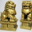 สิงโตมงคลคู่สีทอง อุดมโชคลาภวาสนา ปกป้องภยันอันตราย thumbnail 2