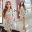Tropical Pastel Layer Mini Dress thumbnail 1