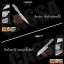CASSA ชุดมีดทำครัวสแตนเลส 7ชิ้น เกรด 4Cr13 รุ่น HP-714 thumbnail 8