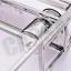 CASSA ชั้นวางของอเนกประสงค์สแตนเลส304 สำหรับใช้ในครัว 3ชั้น รุ่น SUS304-CS340 thumbnail 5