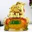 เซียมซู้มงคล(กบคาบเหรียญ)บนกระถางทอง นำโชค คาบเงินคาบทอง อวยพรโชคลาภ thumbnail 1