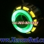 ไฟโปรเจคเตอร์รถมอเตอร์ไซค์แบบ LEDความสว่างสูงพร้อมไฟวงแหวน2ชั้น thumbnail 7