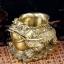 เซียมซู้มงคลกบมงคลคาบเหรียญบนก้อนทอง อวยพรโชคลาภ thumbnail 5
