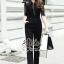 Black&Dark Luxury Jumpsuit Style Mdame Sindy thumbnail 1